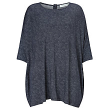 Buy John Lewis Capsule Collection Bark Print Oversized T-Shirt, Navy Online at johnlewis.com