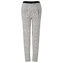 Buy Kin by John Lewis Broken Stripe Print Trousers, Black/White Online at johnlewis.com