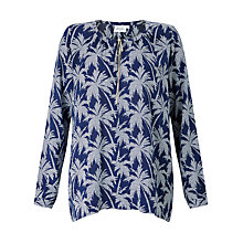 Buy Hartford Hype Palm Print Blouse Online at johnlewis.com
