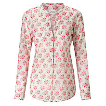 Buy Hartford Carta Floral Print Shirt, Red Bouquet Online at johnlewis.com
