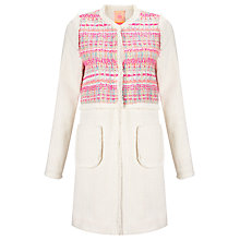 Buy Vilagallo Megan Kaleb Jacket, Cream Online at johnlewis.com