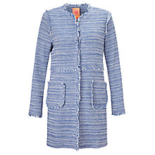 Buy Vilagallo Megan Jacket, Blue Madeline Online at johnlewis.com