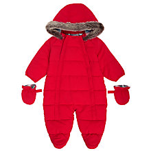 Buy John Lewis Baby Padded Snowsuit Online at johnlewis.com