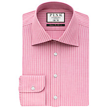 Buy Thomas Pink Abel Stripe Shirt, Pink/White Online at johnlewis.com