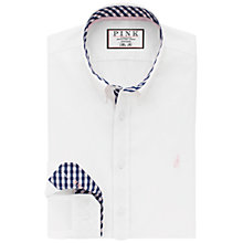 Buy Thomas Pink Evenson Shirt, White Online at johnlewis.com