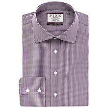 Buy Thomas Pink Holmes Check Athletic Fit Shirt Online at johnlewis.com