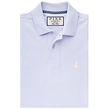 Buy Thomas Pink Warner Plain Polo Shirt, Lilac Online at johnlewis.com