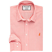Buy Thomas Pink Hulatt Stripe Slim Fit Shirt Online at johnlewis.com