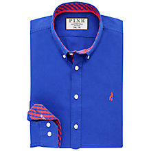 Buy Thomas Pink Evenson Shirt, Blue/Red Online at johnlewis.com