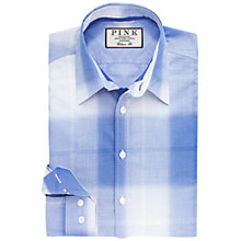 Buy Thomas Pink Sadler Check Classic Fit Shirt, Blue/White Online at johnlewis.com