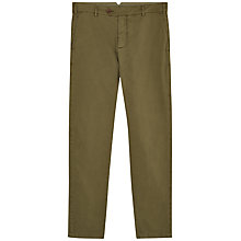 Buy Jaeger Casual Chinos, Khaki Online at johnlewis.com