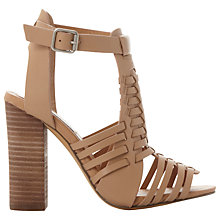Buy Steve Madden Sandrina Block Heeled Weave Sandals Online at johnlewis.com