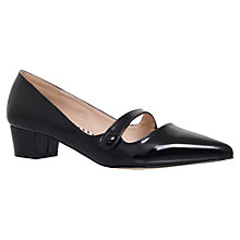 Buy Miss KG Audrina Block Heeled Court Shoes, Black Online at johnlewis.com