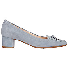 Buy L.K. Bennett Marion Block Heeled Court Shoes Online at johnlewis.com