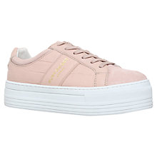 Buy Kurt Geiger Ladbrook Flatform Trainers Online at johnlewis.com