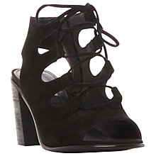 Buy Steve Madden Nilunda Block Heeled Lace Up Sandals Online at johnlewis.com