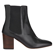 Buy Jigsaw Erin Block Heeled Ankle Boots Online at johnlewis.com