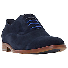 Buy Dune Racketeer Oxford Shoes, Navy Online at johnlewis.com