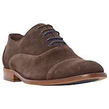 Buy Dune Racketeer Oxford Shoes, Brown Online at johnlewis.com