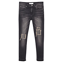 Buy Mango Isa Skinny Jeans, Open Grey Online at johnlewis.com
