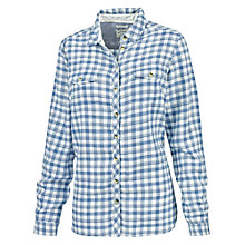 Buy Fat Face Classic Fit Checked Shirt, Navy/Multi Online at johnlewis.com