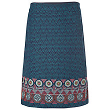 Buy White Stuff Himalaya Skirt, Scenic Blue/Multi Online at johnlewis.com