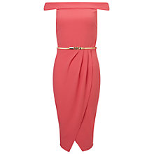 Buy Miss Selfridge Bardot Pencil Dress Online at johnlewis.com