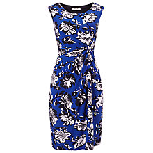 Buy Precis Petite Ocean Print Floral Dress, Blue/Multi Online at johnlewis.com