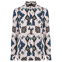 Buy Warehouse Tapestry Shirt, Multi Online at johnlewis.com
