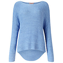 Buy Phase Eight Tazia Jumper, Chambray Online at johnlewis.com