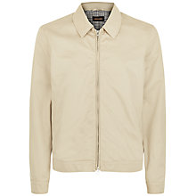 Buy Jaeger Harrington Jacket, Stone Online at johnlewis.com