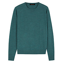 Buy Jaeger Gostwyck Jumper, Mallard Online at johnlewis.com