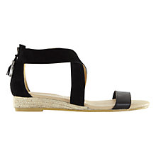 Buy Mint Velvet Carmen Cross Strap Sandals Online at johnlewis.com