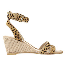 Buy Mint Velvet Flo Wedge Heeled Sandals Online at johnlewis.com