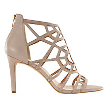 Buy Mint Velvet Georgie Caged Stiletto Sandals, Nude Online at johnlewis.com