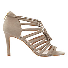 Buy Mint Velvet Sage Multi Strap Tassel Stiletto Sandals Online at johnlewis.com