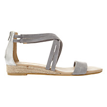 Buy Mint Velvet Kim Wedge Heeled Sandals Online at johnlewis.com