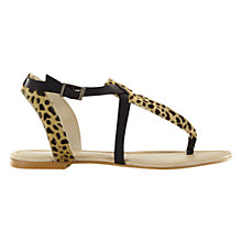 Buy Mint Velvet Freya Cross Strap Sandals, Multi Online at johnlewis.com