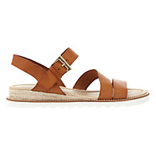 Buy Mint Velvet Raven Cleated Sole Sandals, Brown Online at johnlewis.com