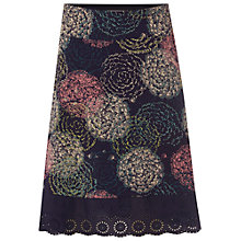 Buy White Stuff Dandelion Skirt, Blossom Blue Online at johnlewis.com