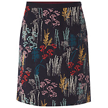 Buy White Stuff Blossom Clover Skirt, Grey Online at johnlewis.com