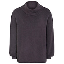 Buy Reiss Wool Corin Roll Neck Jumper, Heather Online at johnlewis.com