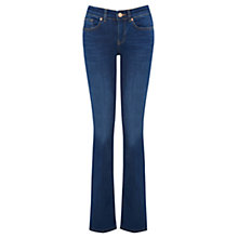 Buy Oasis Slim Bootcut Jeans, Denim Online at johnlewis.com