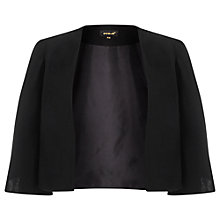Buy Phase Eight Cape Jacket, Black Online at johnlewis.com