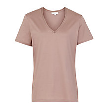 Buy Reiss Ren Trim V Neck T-Shirt Online at johnlewis.com