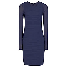 Buy Reiss Rita Bodycon Dress, Indigo Online at johnlewis.com