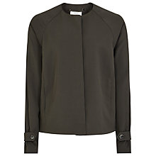Buy Reiss Diego Textured Jacket, Forest Online at johnlewis.com