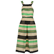 Buy Whistles Miriam Stripe Dress, Multi Online at johnlewis.com