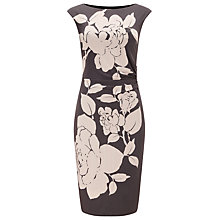 Buy Phase Eight Rosabelle Dress, Graphite/Pink Online at johnlewis.com