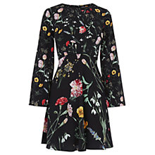 Buy Warehouse Scatter Floral Dress, Multi Online at johnlewis.com